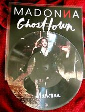 "MADONNA GHOSTTOWN PICTURE DISC REBEL HEART RECORD PROMO INSERT 12"" LP BITCH I'M"