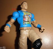 WWE fan pack JOHN CENA figure BLUE shirt U C ME exclusive WWF + TOY DOGTAGS