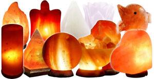 Lampada di Sale dell' Himalaya | varie forme e colori | 100% Salgemma