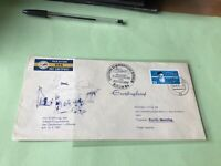 German Democratic Republic 1957 Inland Lufthansa flight stamps cover  52101
