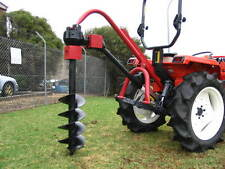 "New POST HOLE DIGGER for tractor 3 point linkage - Tracmaxx , 7"" auger included"