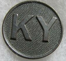 "WW1 ""KY""  Collar Disc, Block with the screw"
