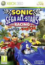 Sonic & SEGA All-stars Racing for Xbox 360 1st Class UK With Banjo-kazooie