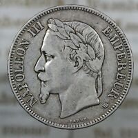 DN - Francia - 5 Franchi 1868 - A323-770
