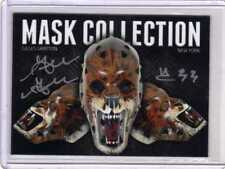 CUSTOM Made  GOALIE MASK COLLECTION GILLES GRATTON NY RANGERS auto signed!