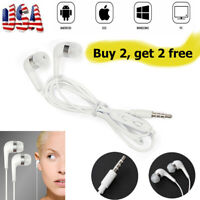 3.5MM Earbuds Earphone In-Ear Stereo Headset With Mic for Samsung Galaxy iPhone