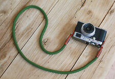 B model Green Climbing rope 10mm handmade Camera neck strap Generic SLR/DSL