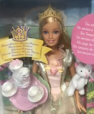 2004 Princess and the Pauper Tea Party Anneliese Barbie doll NRFB