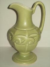 "RedWing ~ Pottery ~ Urn / Pitchers ~ #1081 ~ Green ~ Awesome ""Vintage"" Condition"