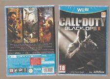 CALL OF DUTY BLACK OPS 2 !!! Un Jeu Incontournable sur WiiU : Jeu NEUF Blister