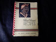 New Orleans Creole Recipes By Mary Moore Bremer 1955 Cookbook - Black Americana