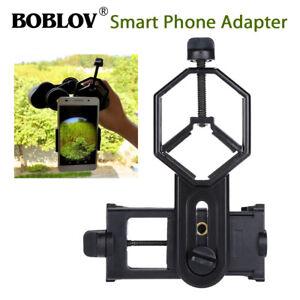 BOBLOV Mobile Phone Adapter Mount Bracket For Telescope Microscope Binocular