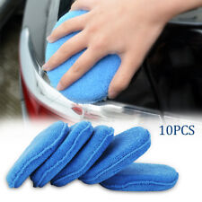 10 x Microfibre Éponge Polissage Lavage Nettoyage Cire Auto Voiture  BR