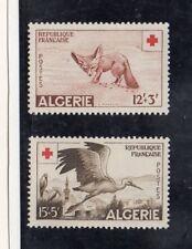 Argelia Francesa Cruz Roja Fauna Serie del año 1957 (DQ-904)