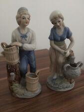 2 Vintage Very Old Figurines