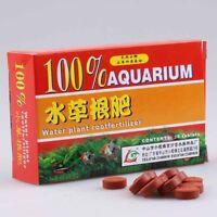 12Pcs/Pack Water Plant Root Fertilizer For Aquarium Fish Tank Aquatic Cylinder