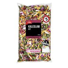 Coles Kaleslaw Salad Kit Prepacked 350g