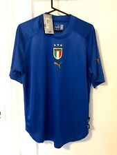 Italy Euro 2004 Soccer Jersey Italia Calcio Shirt Medium Puma World Cup UEFA USA