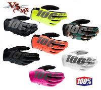 100% Brisker Warm Winter MX Motocross Gloves Cold Weather Thermal Adult & Youth