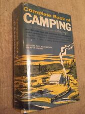 Outdoor Life Complete Book of Camping Leonard Miracle 1961 Hardcover Vintage