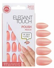Elegant Touch False Nails - Polished Peach (24 Nails)