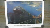 """Original Vintage Poster 1939 """"Leaders Of The Fleet Of Modernism"""" Grif Teller #7"""