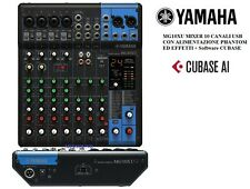 Yamaha MG10XU mixer professionale 10 canali con effetti Scheda Audio USB Cubase