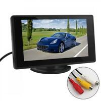 4.3Inch TFT LCD 2-CH Video IN Reversing Car Rear View Monitor for Camera DVD VCR