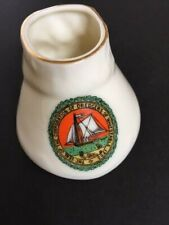 GRAFTON CHINA CRESTED HORSE HOOF Seal of CORPORATION of DREDGERS WHITSTABLE 1793