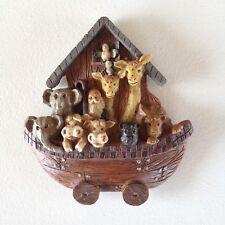 Noah's Ark Wall Plaque Nursery Hanging Animals