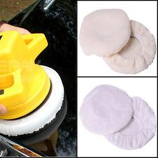 4Pcs Polishing Bonnet Buffer Waxer Polishing Pad For 9inch&10inch Car Polisher