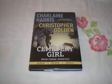 03 - CEMETERY GIRL - HAUNTED by CHARLAINE HARRIS      **SIGNED**