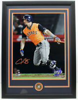 ALEX BREGMAN SIGNED AUTOGRAPHED 16X20 ASTROS PHOTO FRAMED BECKETT BAS #M22753
