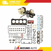 Head Gasket Set Timing Belt Kit Fit 95-00 Plymouth Dodge Chrysler 2.4 DOHC EDZ