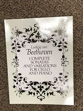 Complete Sonatas and Variations for Cello and Piano by Ludwig Van Beethoven
