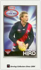 2007 Kraft Dairy AFL Action Heroes Card #6 James Hird (Essendon)