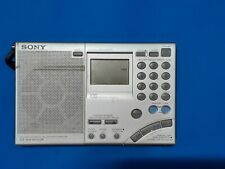Sony Icf Sw 7600 Gr Shortwave Fmm Am Fully working low volume used condition