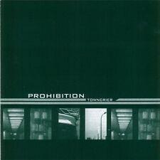 CD Promo PROHIBITION Towncrier Prohibited Records Noise Post Rock Slipcase