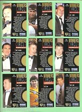 1995  WINNERS CIRCLE RUGBY LEAGUE CARD  SET  WC1 to WC9