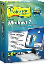 Professor Teaches Windows 7 , Easy Quick interactive tutorials, lessons, Courses