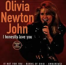 NEWTON JOHN OLIVIA- I HONESTLY LOVE YOU. CD.
