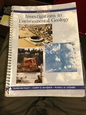 Investigations in Environmental Geology by Garry D. McKenzie, Russell O. Utgard