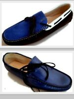 Chaussures Mocassins Homme Made in Italy Italien Leather Hi