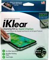 Screen Cleaner iPhone iPad MacBook Spray Wipe 3 Antimicrobial Microfiber Cloths