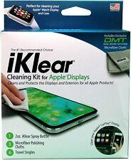 Screen Cleaner iPhone iPad MacBook Spray Wipe 3 Antimicrobial Microfiber Cloths