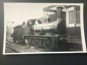FURNESS RAILWAY: LOCOMOTIVE No 31 AT WHITEHAVEN - NICE POSTCARD-SIZE PHOTO!