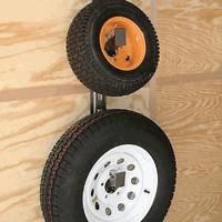 Rack 'Em Spare Tire Carrier Enclosed Trailer RA-16