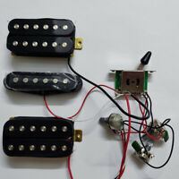 HSH Prewired Loaded Strat Electric Guitar Pickups Set Wiring Harness 1V2T Pickup
