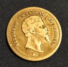 50 CENTESIMI 1860 FIRENZE VITTORIO EMANUELE II RE ELETTO REGNO D'ITALIA SAVOIA
