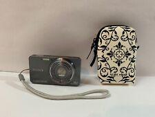 Sony Cyber-shot DSC-W570 16.1MP Digital Camera - Dark Gray with Acme Case